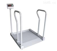 上海300kg醫用透析地磅秤可上病人推車體重秤