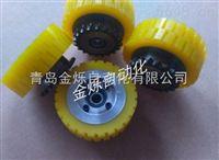 山东AGV小车防滑车轮及链轮成套驱动轮/无人运输车脚轮