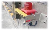 货车倒车平台装卸区域预警安全防护系统